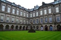 Holyrood Palace in Edinburgh Scotland royalty free stock photography