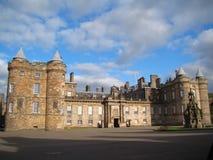 Holyrood Palace in Edinburgh, Scotland Royalty Free Stock Images
