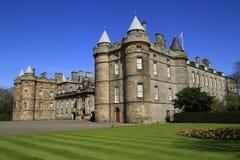 Holyrood Palace in Edinburgh, Scotland. Landmark of  Edinburgh, the Holyrood Palace, Scotland Stock Photography