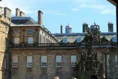 Holyrood Palace. Stock Photo