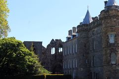 Holyrood Palace. Royalty Free Stock Photos
