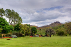 Holyrood Park Stock Image