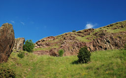 Holyrood Park Royalty Free Stock Photos