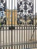 Holyroodhouse宫殿  爱丁堡,苏格兰,英国 库存照片