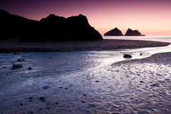 Holywell Bay Royalty Free Stock Images