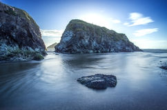 Holywell bay in Cornwall Uk England Royalty Free Stock Images