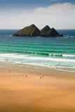 Holywell Bay, Cornwall, UK. Royalty Free Stock Images