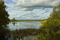 Holywood Lake Stock Photo