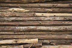 Holz anhäuft für Aufbau t Lizenzfreies Stockbild