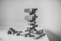 Holz bessert Spiel aus Stockfotografie