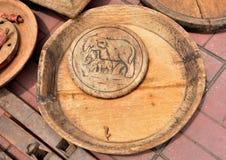 Holz, das Klassiker schnitzt Stockfoto