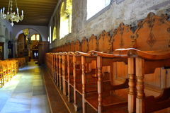 Holz, das Sitze schnitzt Lizenzfreie Stockbilder