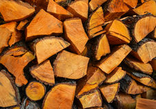 Holz für das Brennen Lizenzfreie Stockfotografie