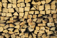 Holz für Winter Lizenzfreie Stockbilder