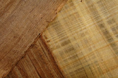 Holz gekopiertes Papier 1 Stockfoto