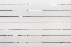 Holz malte Weiß und der Hintergrund verwischte Haus Lizenzfreie Stockfotos