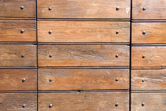 Holz und Nägel Stockfotos