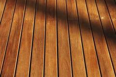 Holz und Schatten Lizenzfreie Stockfotos