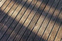 Holz und Schatten Lizenzfreie Stockfotografie