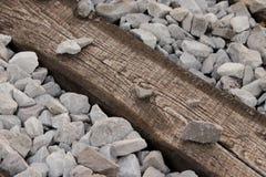 Holz und Stein stockfotos