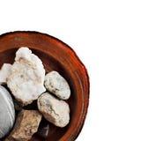 Holz und Steine Lizenzfreie Stockfotos