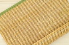 Holz, Weidenhintergrund mit Blumenmotiv Lizenzfreies Stockbild