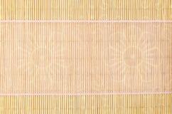Holz, Weidenhintergrund mit rosa Band Lizenzfreies Stockfoto
