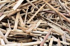 Holzabfälle Lizenzfreie Stockbilder