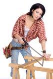 Holzbearbeitung Lizenzfreies Stockfoto