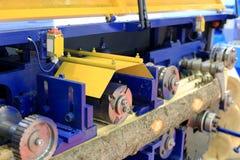 Holzbearbeitungs-Maschine Lizenzfreies Stockbild