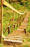 Holzbrücke Stockfotografie