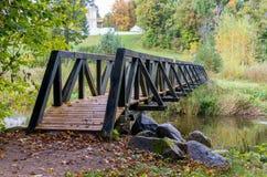 Holzbrücke Lizenzfreie Stockbilder