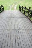 Holzbrücke Lizenzfreie Stockfotografie