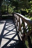 Holzbrücke, Illinois stockbild