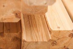 Holzen Sie industrielle hölzerne Beschaffenheit, Bauholzkolbenhintergrund ab Lizenzfreie Stockfotografie