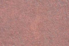 Holzfaserplatte gemalt in der rosa Farbe Alte Backsteinmauer Stockbilder