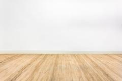 Holzfußbodenraum Lizenzfreies Stockbild