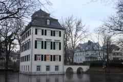 Holzhausen庄园住宅 库存图片