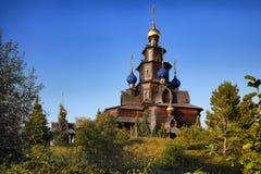 Holzkirche ortodoxo Imagen de archivo