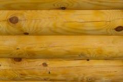 Holzklotzbeschaffenheit Lizenzfreie Stockfotos