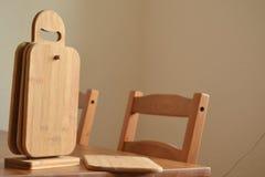 Holzmöbel Stockbild