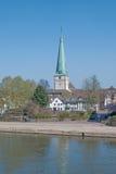 Holzminden,Weser River,Germany Stock Images