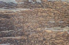 Holzoberfläche mit gebrochener Farbe 3 Stockfotos