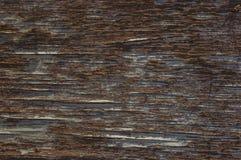 Holzoberfläche mit gebrochener Farbe 1 Stockbild