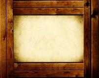 Holzrahmen vektor abbildung