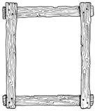Holzrahmen Stockbild