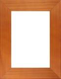 Holzrahmen der Abbildung Stockfotografie