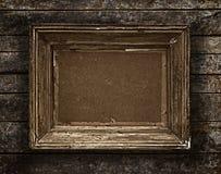 Holzrahmen der Weinlese Stockfotografie