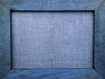 Holzrahmen des abstrakten Tones der Weinlese blauen Lizenzfreie Stockbilder