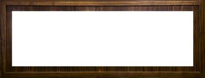 Holzrahmen des Briefkastens mit leerem Textraum Stockbild